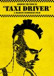 'Taxi Driver' film poster by Hertzen