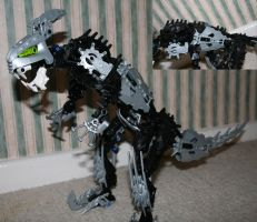 Bionicle MOC: Skirmix Rex 1 by Rahiden