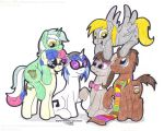 MLP: Background Six by SkywalkerGirl666