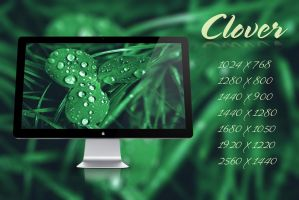 Clover - Wallpaper by Hercules1997