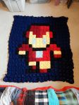 8 bit iron man afgan by catnmaus