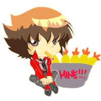 Judai Yuki  and Ebi Fry by breezelessvanity
