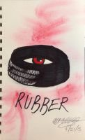 Rubber- the killer tire by ansem-the-dead