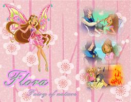 Flora Winx club by Winxdigitalclubworld