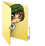 Mr.Chair folder icon by Rainbow-fiedKitty