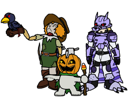 Everyone hail to the Pumpkin King! by Neopolis