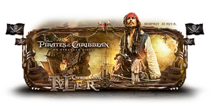 Pirate of the Caribe by iPauloDesigner