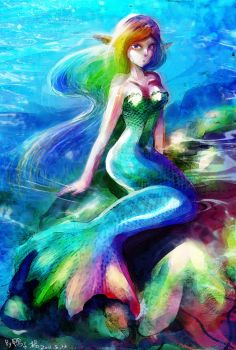 mermaid by tikal