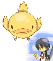 Hibari_and_Hibird by chiaky