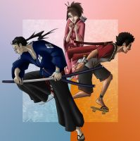 Samurai Champloo by kristi-beck