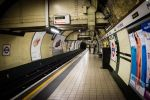Down in the tube staion at midnight by DegsyJonesPhoto