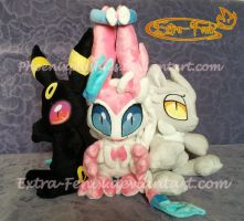plushies chaos by Extra-Fenix