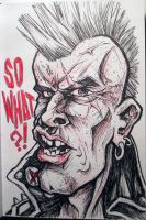 Sketch Bk. So What?! Punk by Trashe-Trav