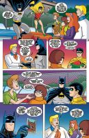 Scooby Doo Team-Up pag 3 preview by DarioBrizuelaArtwork