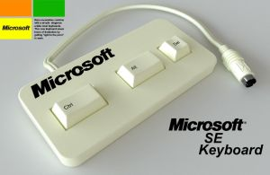 Microsoft Keyboard by JonEastwood
