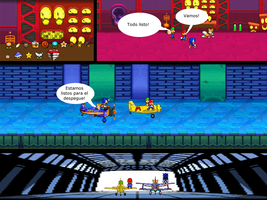 Mario and Sonic CV Chapter 4 Part 14 Spanish by Mazznick