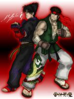 Ryu and Jin: Alternate by TheALVINtaker