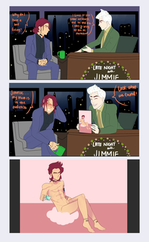 Late Night with Jimmie by ColorlessPrism