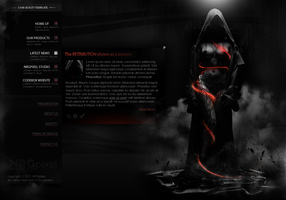 Retribution Template by MsT4GFX