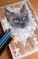 Jigsaw puzzle by Bluefirewings