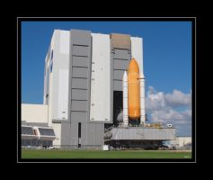 STS-125 Rollout by OpticaLLightspeed