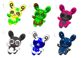 Spinda adoptables OPEN by ForgottonSerenity