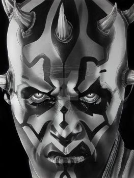 Darth Maul Finsihed by corysmithart