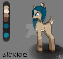 Aidrien - OC for my friend RatAnn by KettuFox