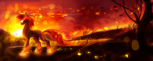 MLP C: flames by AquaGalaxy
