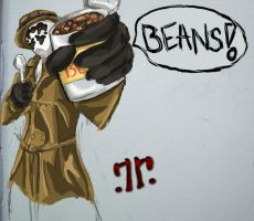 Rorschach likes beans by xaharah