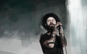 Woodkid speed paint by Namecchan