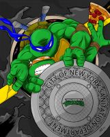 tmnt colored by go-kun