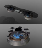 Vehicle - Hoverboard by 100SeedlessPenguins