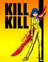 Kill La Kill/ Kill Bill by dovianax