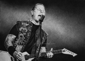 James Hetfield by Esteljf