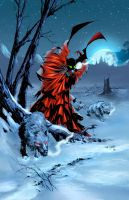 Spawn color commission by jembury