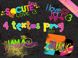 Textos Png By Isfe by Isfe