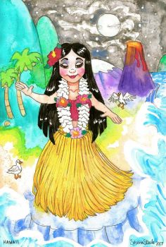 It's A Small World After All - HAWAII by ghostyheart
