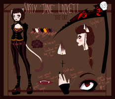 Sassy Jane Lockett Reference 5-5-14 by sad-soup