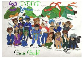 TMNT Gaia Guild Pic by anaromantic