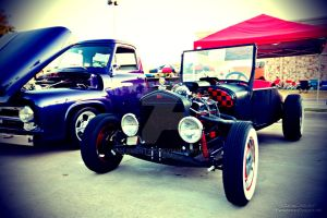 Model T Ford - Lomography by element321