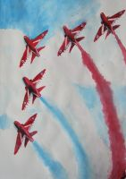 Red Arrows by snakegirl94
