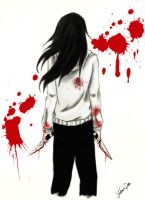 Jeff the killer Blood and Darkness 4 Insanity song by YohansDark