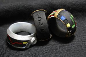 Daft Punk Rings by ammnra