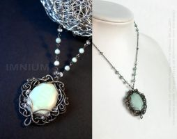 Mist necklace by IMNIUM