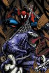 spiderman 'n' venom by decainus