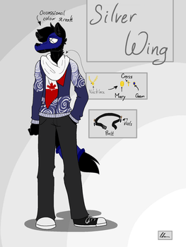 Silver Wing by SilverWingInk