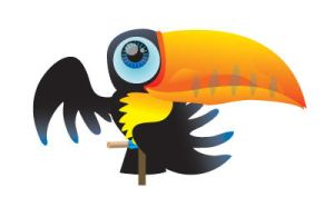 Toki, the toucan by catOutOfHell