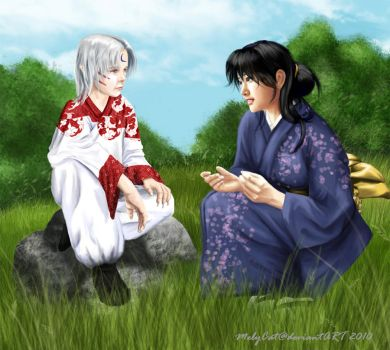 InuYasha - Unspoiled Fanart by MelyCat