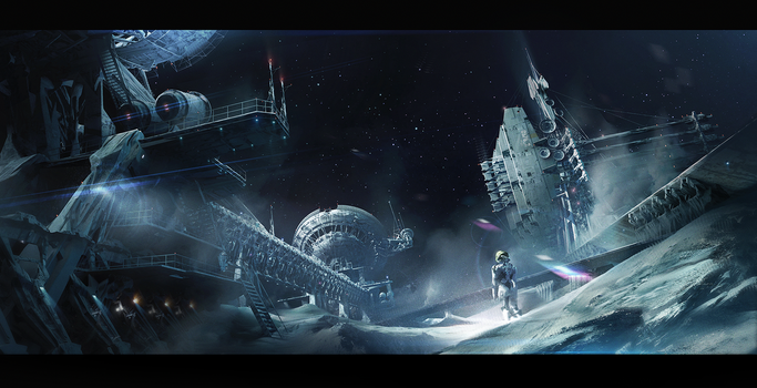 Space Engineers_loneliness by IvanLaliashvili